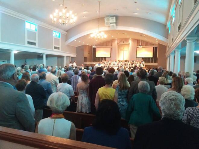 Worship at 9 a.m.