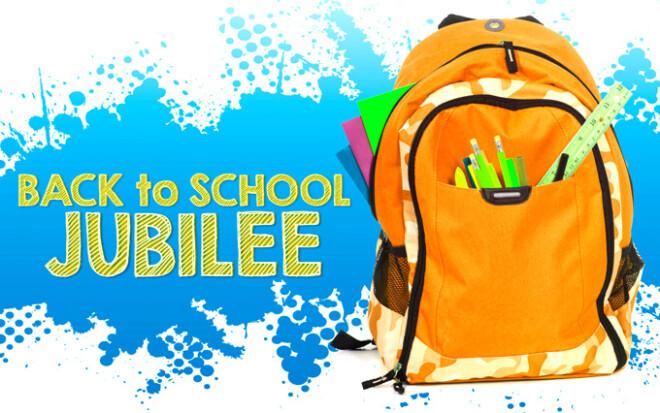 Back to School Jubilee