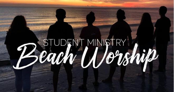 Student Beach Worship