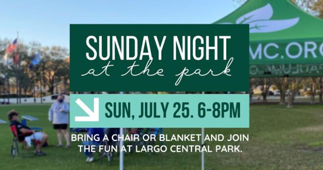 Sunday Night at the Park